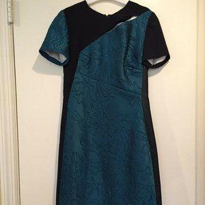 J. MENDEL**Shortsleeve Green w/Leather Side $3250